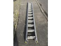 Two section aluminium ladder for sale