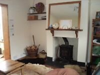Summer let, lovely 3 bed family home, with small garden, conservatory, views and beautiful kitten.