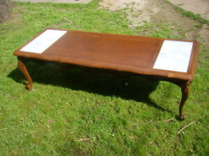 French Provincial Coffee table...JUST REDUCED to 75.00