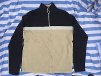 Men's brown, black jumper. Size medium.