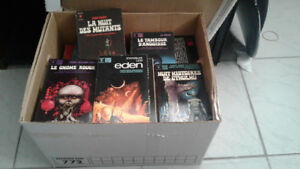 Collection de livres Science Fiction et Fantastique