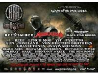 Hard rock hell tickets x 6 with chalet accomodation