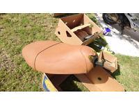 Piaggio Vespa ET2 / ET4 Parts : Seat (rips)