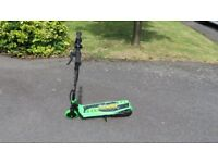 Zinc Volt 120 Electric Scooter- Neon Green & Black- Unmarked Unused Ex Display with Charger