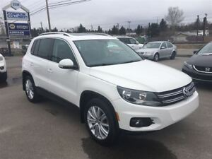 2013 Volkswagen Tiguan HIGHLINE/ LEATHER/ GPS/ PANO ROOF
