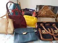 job-lot 10 hand bags