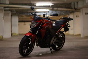 2014 Honda CB500f with New Tires
