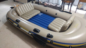 Great Inflatable Boat Package with Troller, Battery, Mount+MORE!