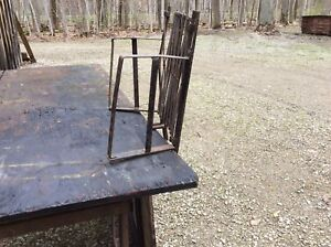 Antique luggage carrier for 1930-1940