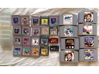 Nintendo 64 and Gameboy 28 pcs
