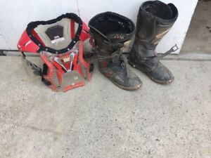 Chest Protector and Boots