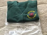 Girls Brand New Embroidered Southcote Primary School Cardigans x 3