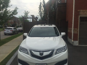 2016 Acura RDX Tech Pkg SUV, Crossover - White on Black