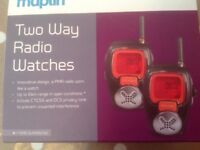 Two Way Radio Watches