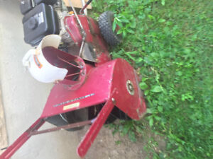 Selling old body snow blower with new engine