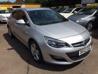Vauxhall Astra 1.4I 16V VVT SRI 100PS (silver) 2012