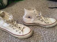 Womens high top converse size 3