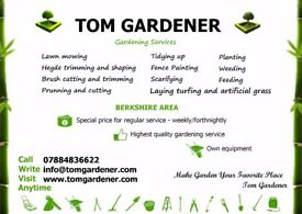 Tom Gardener - Professional Gardening Services