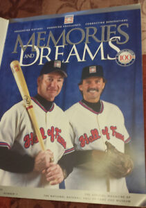 MEMORIES AND DREAMS COOPERSTOWN HALL OF FAME PROGRAM 2004