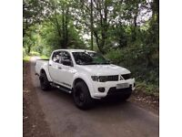 Mitsubishi L200 Warrior / **NO VAT** / FSH / Leather / Air-Con / Immaculate / New Wheels & Tyres