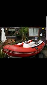 4 mtr rib with 55hp may swap