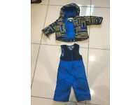 Columbia 12 - 18 months Ski Buga Set - Jacket and Snow Pants
