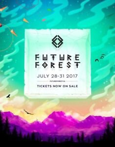 Future Forest Weekend Pass with Parking