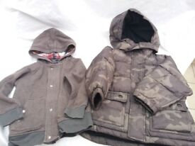 Boys Baby Gap Coat & Hoody Bundle Age 3 Years Coat BN Hoody Excellent Condition