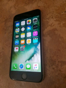 Iphone 6 16gb lock to Rogers, Fido and Chatr $350 9/10