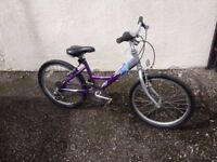 Girls bike. Suit 7 to 10 years old.