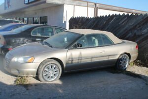 2004 CHRYSLER SEBRING CONVERTIBLE GTC