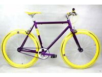 Brand new NOLOGO ALUMINIUM single speed fixed gear fixie bike/ road bike/ bicycles QQ8