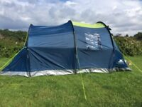 Tent,Tresspass Caterthun 4 man excellent condition