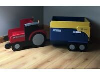 Tractor Shaped Kids Furniture