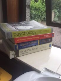 Student Psychology Books For Sale! Still in excellent condition.