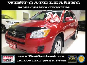2012 Toyota RAV4 V6 4WD | ONE OWNER |