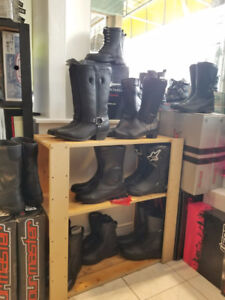 Ladies Motorcycle Boot CLEARANCE - Sport styles