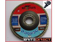 Flap discs 115 4,5' Grit 36, 40, 60, 80, 120 disc sander, abrasive angle grinder, grinding wheel