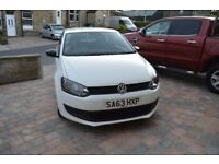 VW Polo 2013 White 1.2 Litre 3 Door Low Mileage 22802