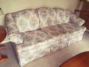 Well cared for Furniture items, Couch/Loveseat, Antiques etc.