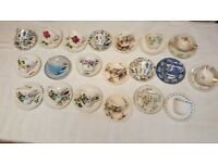 20 Vintage Tea Cups & Saucers an Assortment of Very Beautiful Designs,