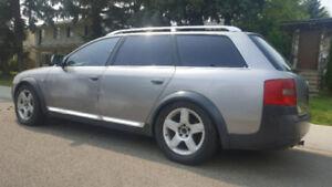2001 Audi A6 Allroad wagon AWD 2.7 turbo automatic LOADED