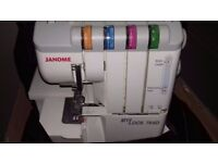 Janome MyLock 744d, Brother BC2100 Sewing Machines +Adjustoform Dressmaking Dummy