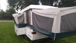 Trade - 12' 2001 Coleman Utah Tent trailer. Looking for PWC