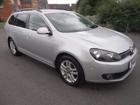 2011 VW GOLF 1.6 TDI BMT SPORTLINE BLUEMOTION 1 OWNER £20 ANNUAL TAX STUNNING
