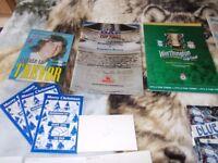 football memorabilia Birmingham City FC. (part1 )