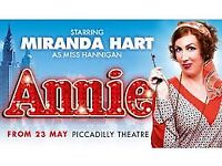 Annie the Musical Tickets 4th September 2017