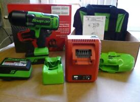 Snap on 18v 1/2 green monster impact gun brand new