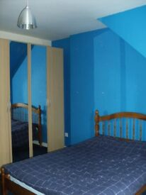 one bedroom in a 3 bedroom flat is available for rent