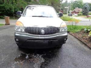 2003 Buick Rendezvous White & Grey SUV, Crossover
